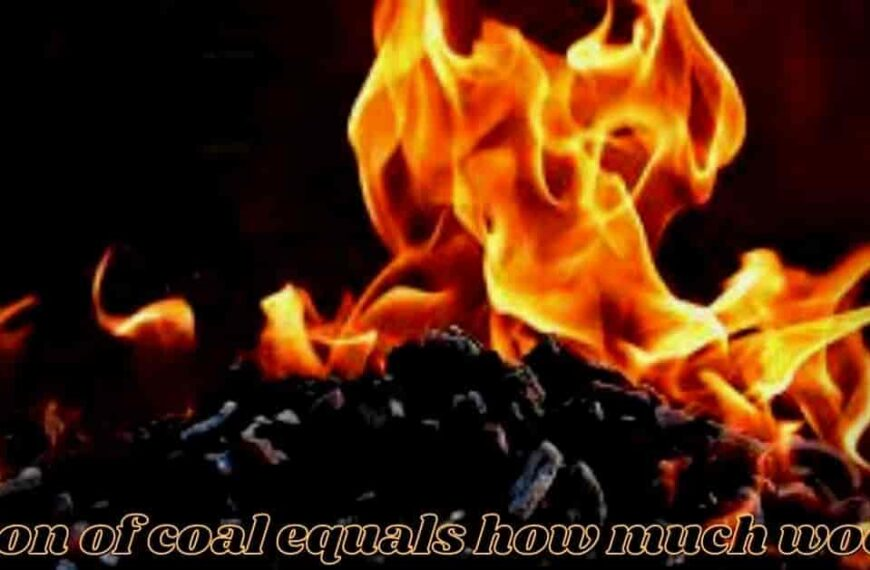 1 Ton Of Coal Equals How Much Wood (Answered)