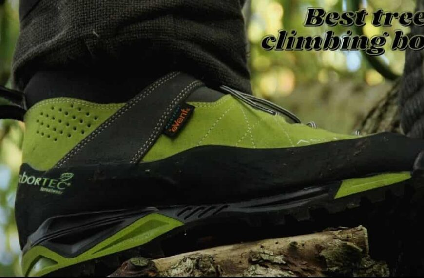9 Best Tree Climbing Boots (Focus On Grip Or Comfort) in 2021